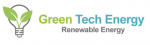 Green tech energy logo